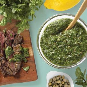 Chef Kathy Gunst's Chimichurri Sauce