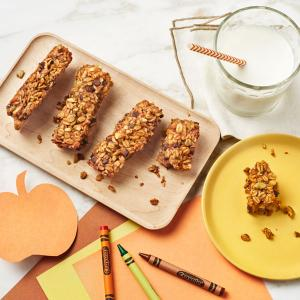 Nutty Pumpkin Granola Bars