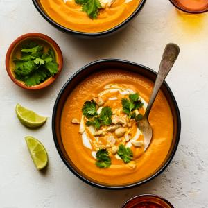Creamy Coconut-Carrot Soup