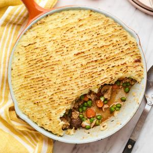 Turkey and Veggie Shepherd's Pie