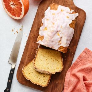 Grapefruit-Buttermilk Loaf Cake