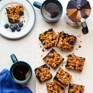 Wild Blueberry Breakfast Bars