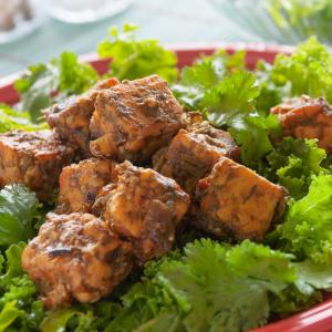 Curried Coconut Tempeh Salad