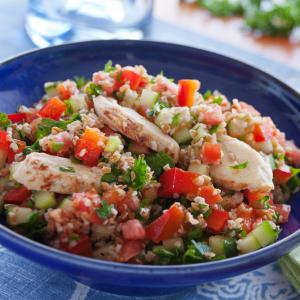 Tabbouleh with Chicken