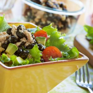 Salmon Black Bean Salad