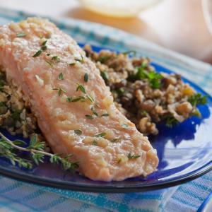 Honey-Thyme Salmon Foil Packets