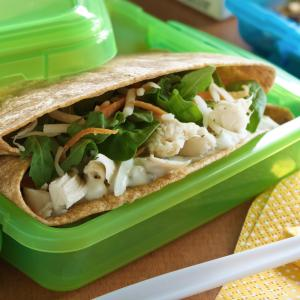 Chicken Spinach Wraps