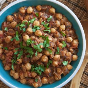 Chole (Garbanzos)
