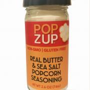 Popzup Real Butter & Sea Salt Popcorn Seasoning