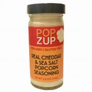 Popzup Real Cheddar & Sea Salt Popcorn Seasoning