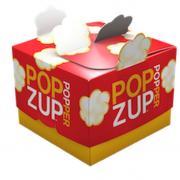 Popzup Popper Reusable Microwave Popcorn Popper & Popcorn