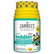 Zarabee's Natural Toddler's Multi Vitamin Gummy Fruit Flavor