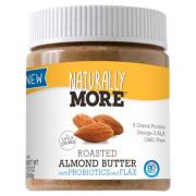 Naturally More Roasted Almond Butter With Probioics & Flax