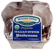 Mousam Valley Organic Italian Oyster Mushrooms