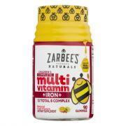 Zarabee's Natural Children's Multi Vitamin +Iron Gummy