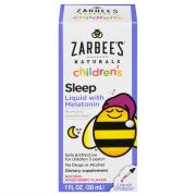 Zarbee's Natural Childrens' Sleep Liquid with Melatonin
