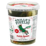 Grillo's Pickles Hot Italian Dill Spears