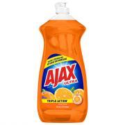 Ajax Triple Action Orange Liquid Dish Detergent