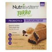 Nutrisystem Turbo Probiotics Peanut Butter Chocolate Bar