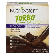 Nutrisystem Turbo Chocolate Shake Mix