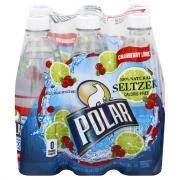 Polar Cranberry Lime Seltzer