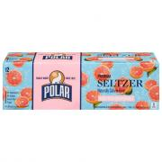 Polar Ruby Red Grapefruit Seltzer Water