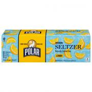 Polar Lemon Seltzer Water