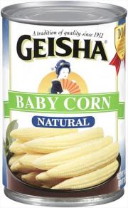 Geisha Whole Baby Corn
