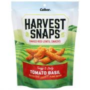 Calbee Harvest Snaps Tomato Basil Lentil Bean