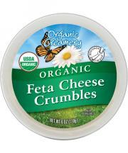 Organic Creamery Organic Feta Cheese Crumbles