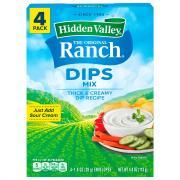 Hidden Valley Ranch Original Ranch Dip Mix