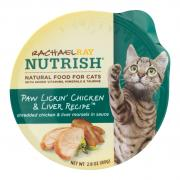 Rachael Ray Nutrish Paw Lickin' Chicken & Liver Cat Food