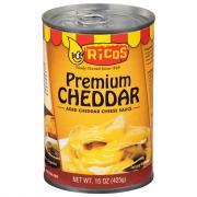 Ricos Premium Cheddar Cheese Sauce