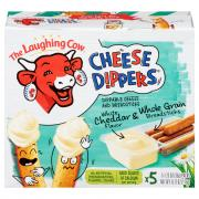 The Laughing Cow Creamy White Cheddar Cheese Dippers