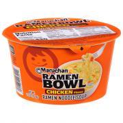 Maruchan Bowl Chicken Ramen Noodle Soup