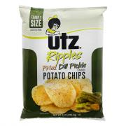 Utz Ripples Fried Dill Pickle Potato Chips