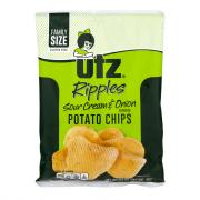 Utz Sour Cream & Onion Ripple Potato Chips