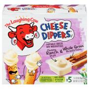 The Laughing Cow Creamy Cheese Dippers Cheesy Ranch