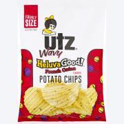Utz Wavy Heluva Good! French Onion Potato Chips