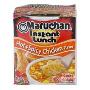 Maruchan Instant Lunch Hot & Spicy Chicken Soup Cup