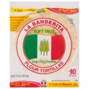 La Banderita Soft Taco Flour Tortillas