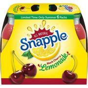 Snapple Black Cherry Lemonade