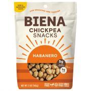 Biena Chickpea Snacks Habanero Medium Spicy