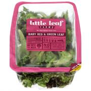 Little Leaf Farms Baby Red & Green Leaf Lettuce