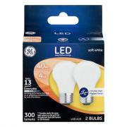 GE LED 4w (40w Replacement) Frosted Ceiling Fan Bulbs