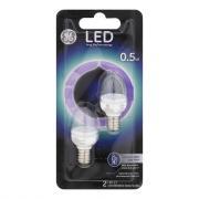 GE LED .5w Clear Nightlight Bulbs