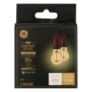 GE LED Vintage Style 5.5w (60w Replacement) Amber Candle Bul