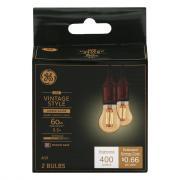 GE LED Vintage Style 5.5w Amber Candle Bul