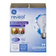 GE Reveal HD 72w (100w Replacement) Halogen Clear Bulbs
