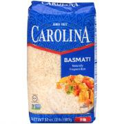 Carolina Basmati Naturally Fragrant Rice